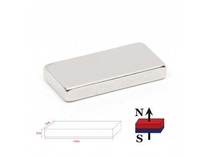 Magnet 10x5x2mm