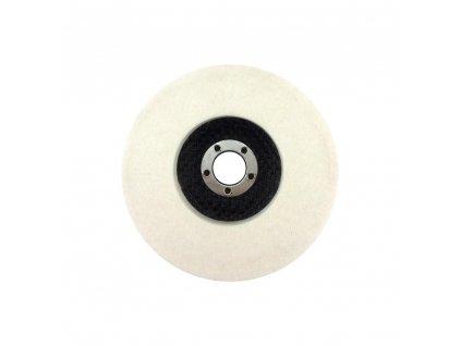 Leštící filcový plný kotouč 100x16mm