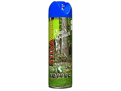 Značkovací sprej na dřevo Fluo Marker, modrá