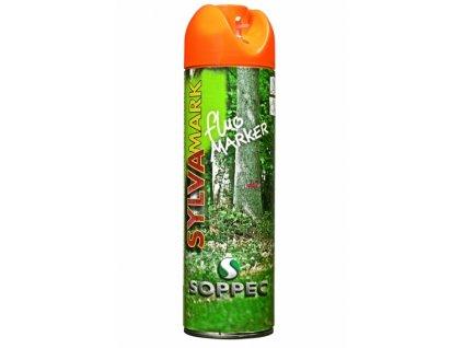 Značkovací sprej na dřevo Fluo Marker, oranžová