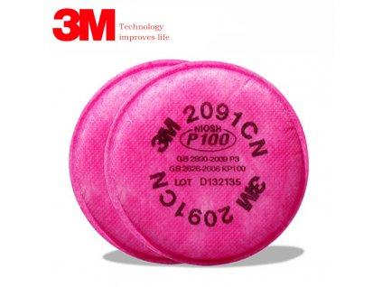Filtr FFP2 pro polomasky 3M 6800 7502 6200 1