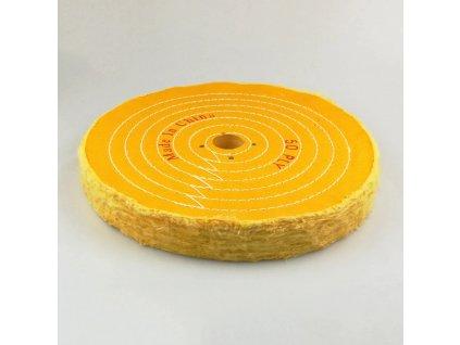 Hadovy kotoucu lestici 300mm zluty Daitex