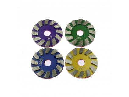 Hrubovaci diamantove kotouce s upnutim na suchy zip Daitex7