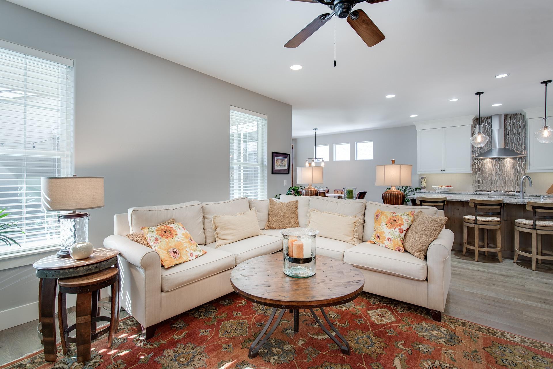 Jak rozdělit obývací pokoj