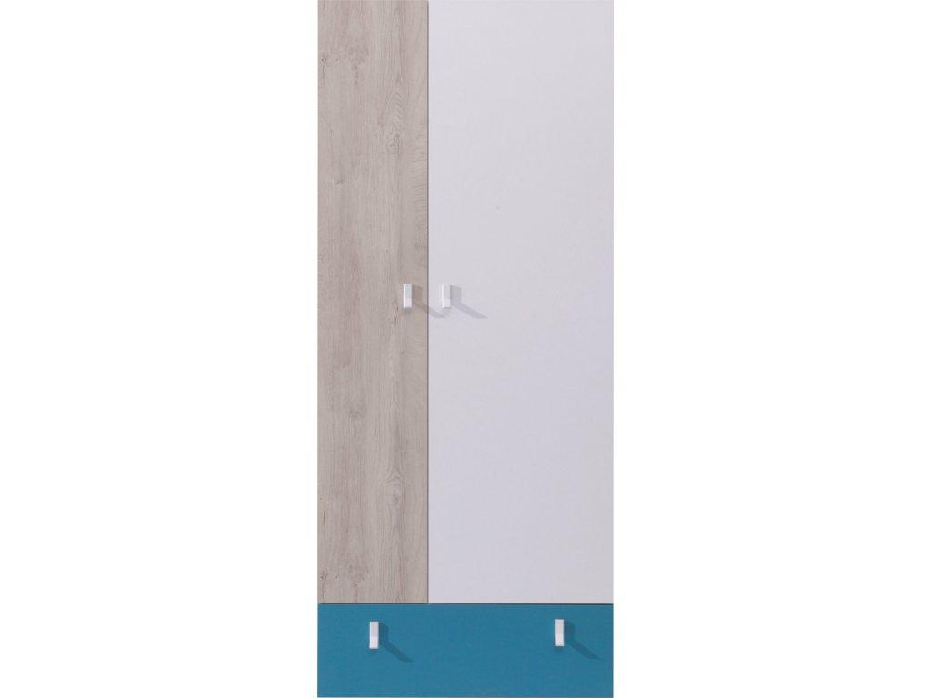 Šatní skříň PL03 PLANET Meblar 80/190/50