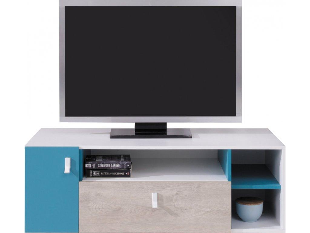 Televizní stolek PL10 PLANET Meblar 120/40/50
