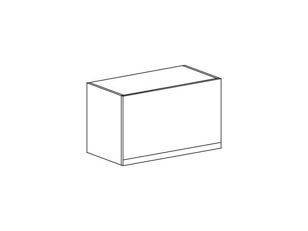 Kuchyňská skříňka horní Domel Lesk GKL-50/36