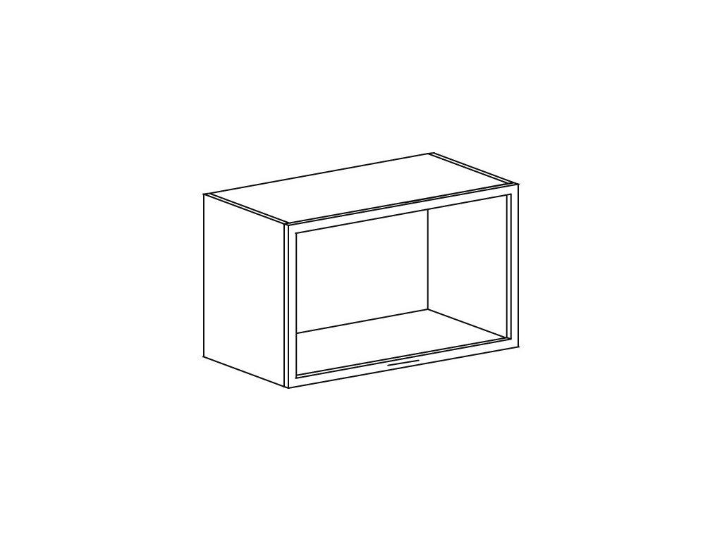 Kuchyňská skříňka/vitrínka horní Domel Lesk GKL-60/36