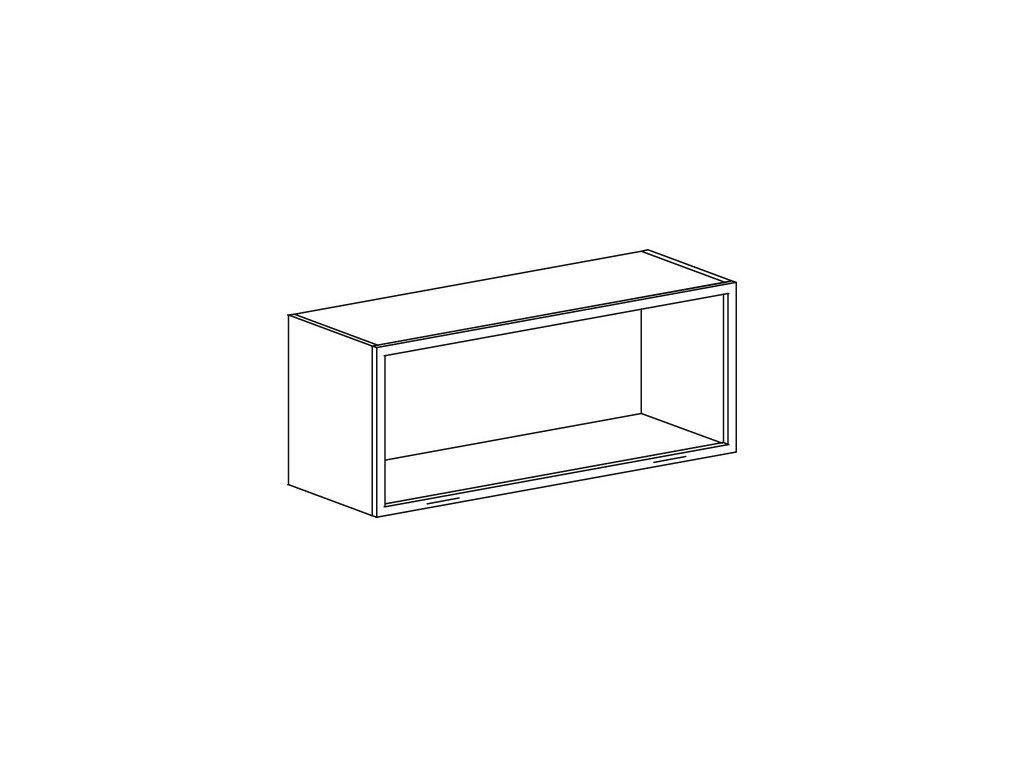 Kuchyňská skříňka horní Domel Lesk GKL-90/36S