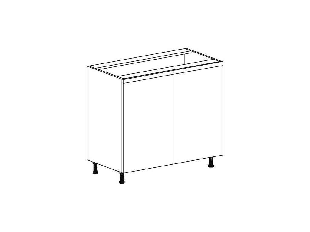 Kuchyňská skříňka spodní Domel Lesk D-90/82
