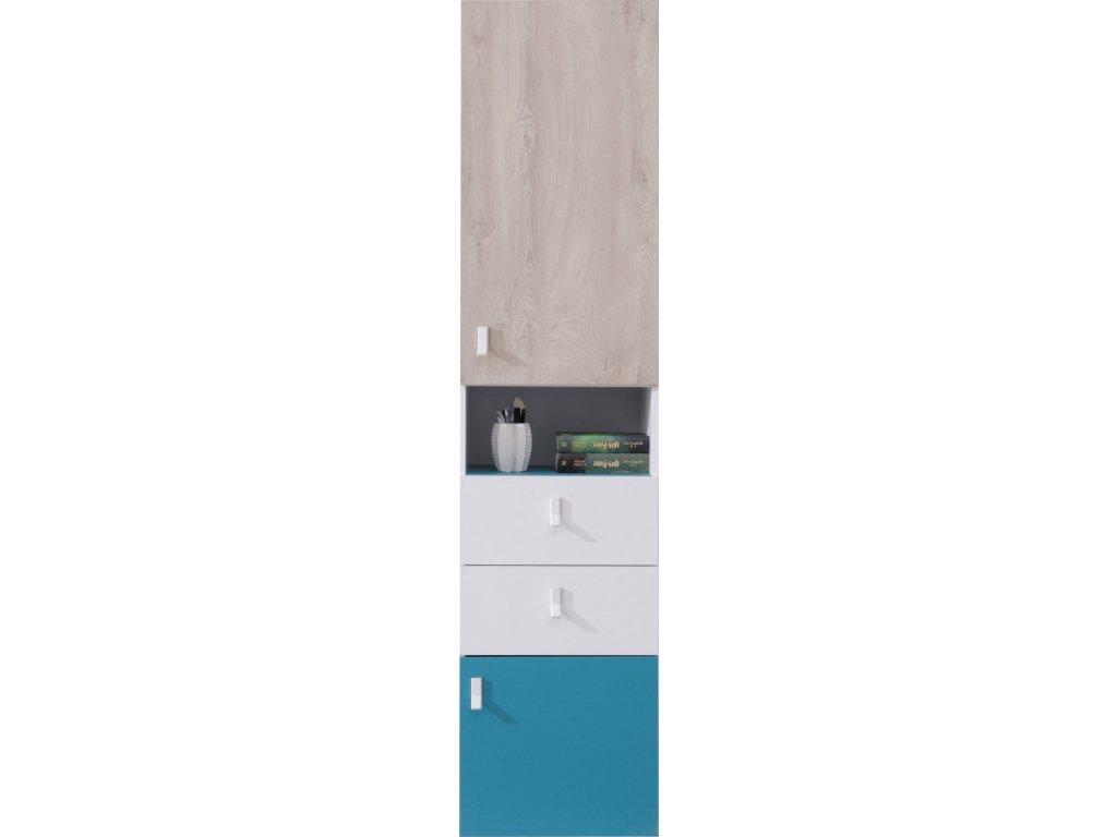 Regál PL04 PLANET Meblar 45/190/50