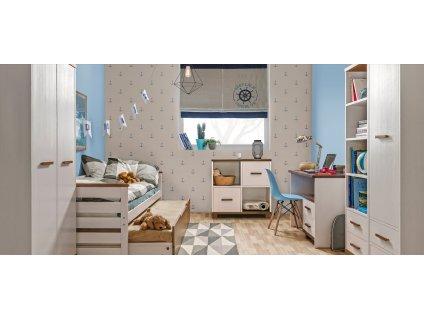 Dětský pokoj ALAN 2 Dolmar