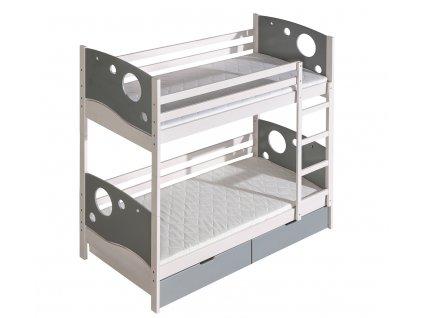 Patrová postel KEVIN Dolmar 88/171/196