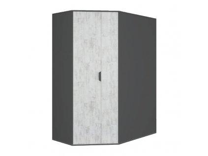Šatní skříň rohová NA1 NANO Meblar 145/195/95 L/P