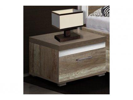Noční stolek MODESTO remex 45 x 32 x 45 cm