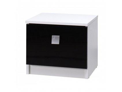 Noční stolek LUX STRIPES Maridex 41/36/35