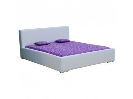 Čalouněná postel 160 BIANCO
