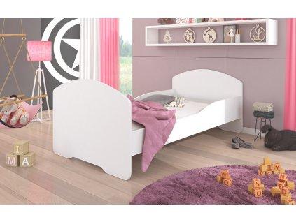 Dětská postel PEPE s matrací Adrk 88/63/164