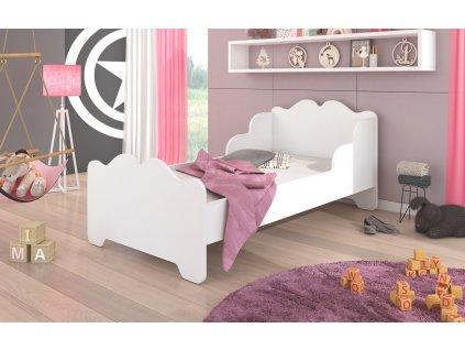 Dětská postel XIMENA s matrací Adrk 88/63/164