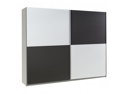 Šatní skříň LUX 21 Maridex 244/206/64