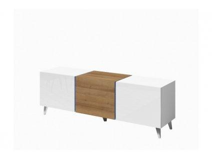Televizní stolek DOMINO Gib 138/46-36/35