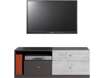 Televizní stolek TABLO TA8 Meblar 120/45/50