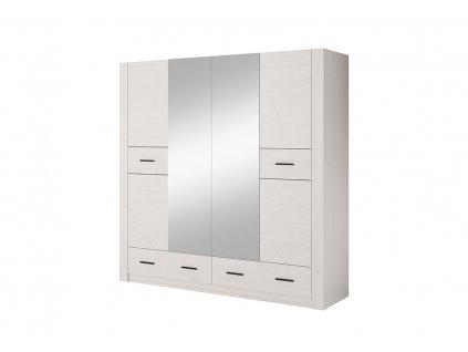 Šatní skříň ANDERS Laski 200/202/56,5