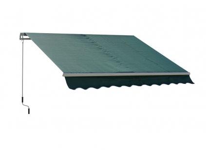 Markýza 4x2,5m - vzor 101 zelená