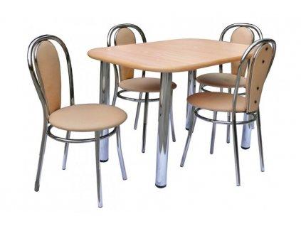Jídelní stůl WIKTOR Metpol 100/74/60 výprodej