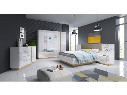 ARCO (sypialnia) biały połysk