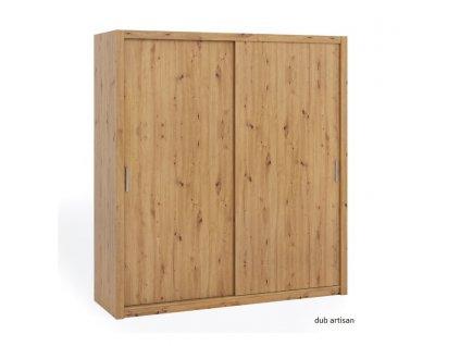 Šatní skříň 200 Gib 200/215/62 výprodej