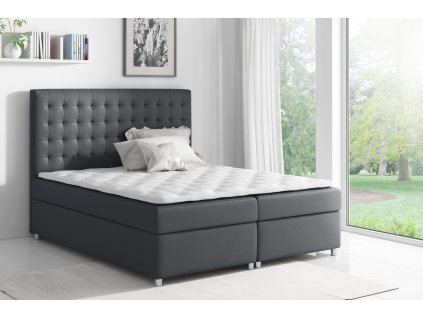 Łóżko kontynentalne ASTI w tkaninie Bristol 2458