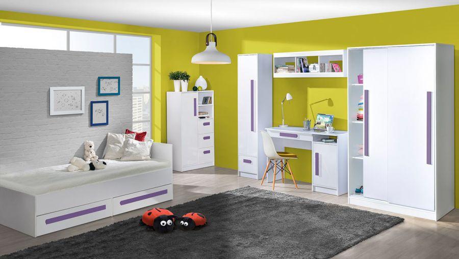 Domel Dětský pokoj GULIVER 4 Domel Barva: ruzova