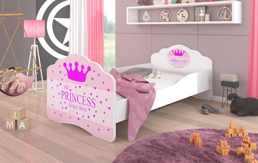 Adrk Dětská postel CASIMO PRINCESS Adrk 78/58/144