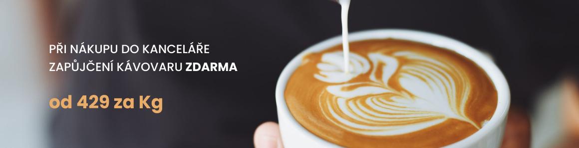Kávovar zdarma
