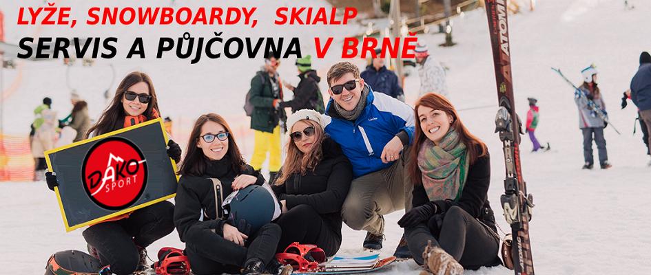 Ski servis a půjčovna