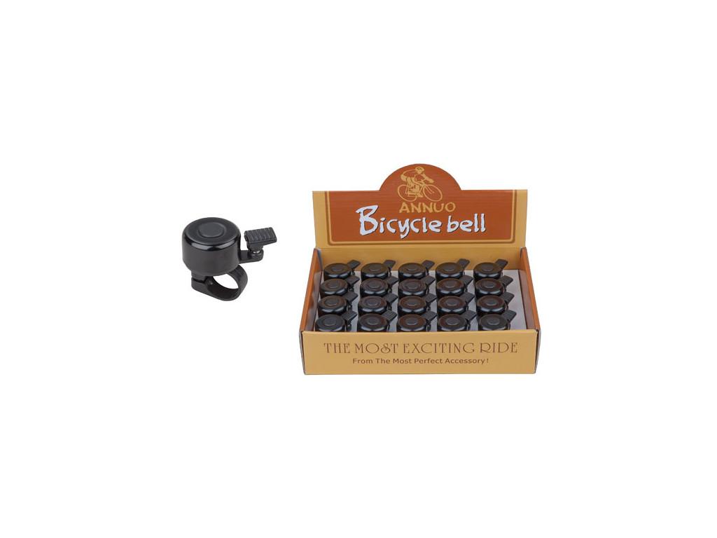 Zvonek PRO-T mini černý dural (box 20ks)