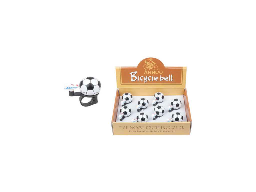 Zvonek mini fotbalový míč (box 8ks)