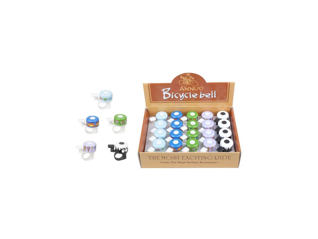 Zvonek PRO-T mini s motivem (box 20ks)