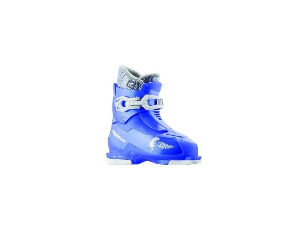 Dětské lyžařské boty Alpina Zoom - blue