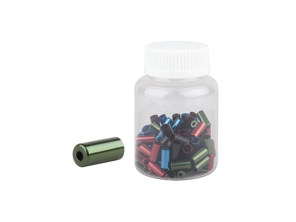 Koncovka bowdenu PRO-T 5mm Color CNC (láhev 100ks)
