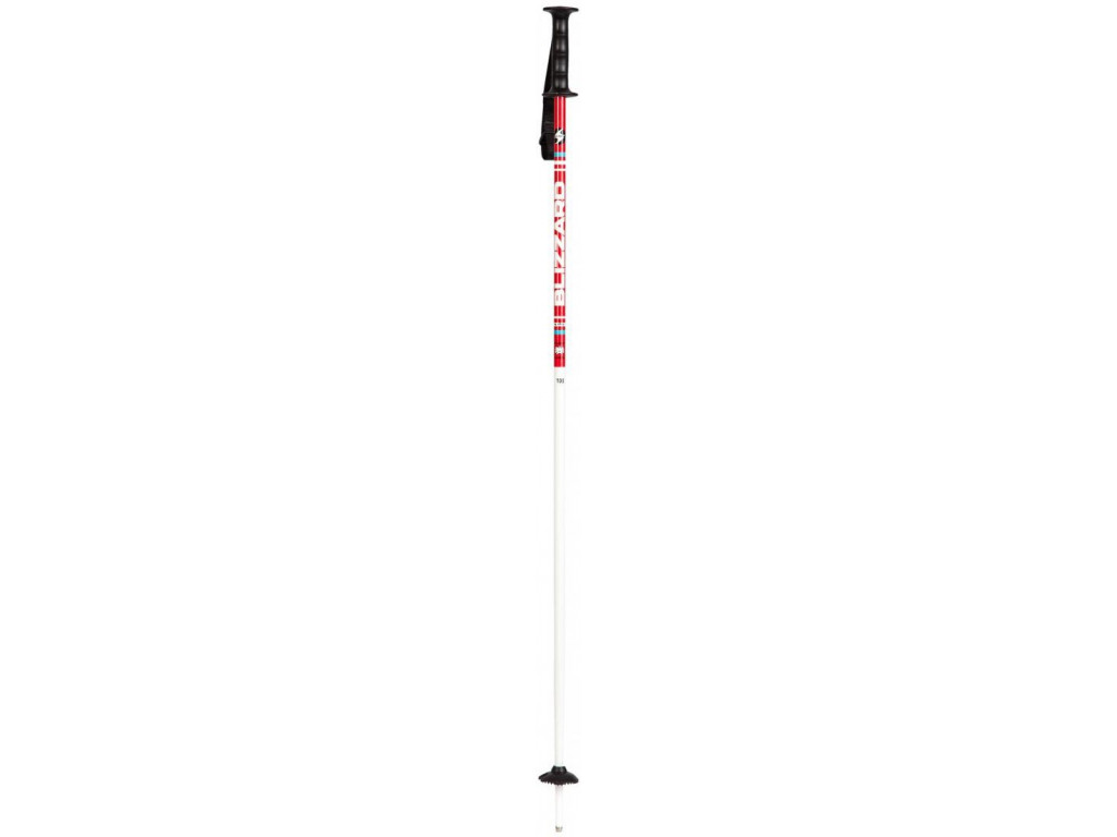 Dětské lyžařské hole Blizzard Race Junior Ski Poles - red/white