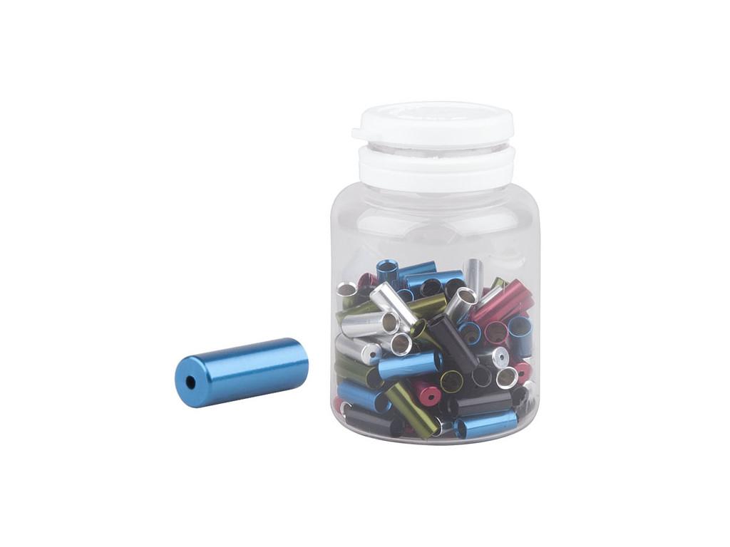 Koncovka bowdenu PRO-T Plus 4mm Color dural CNC zatěsněná (láhev 100ks)