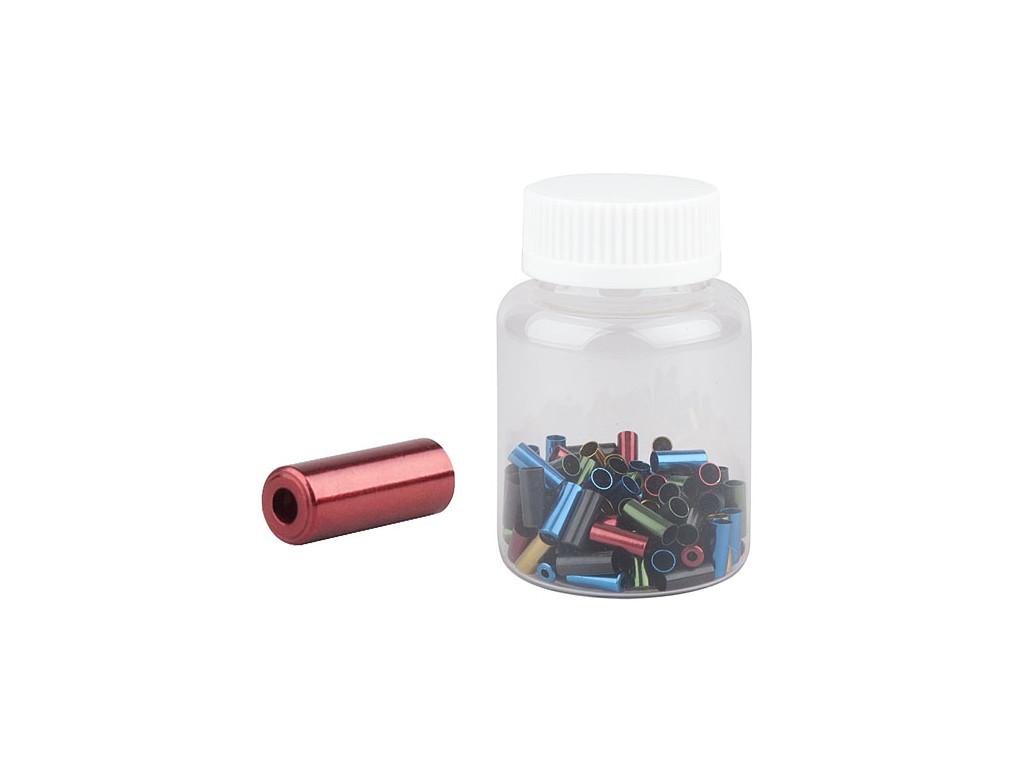 Koncovka bowdenu PRO-T 4mm Color CNC (láhev 100ks)