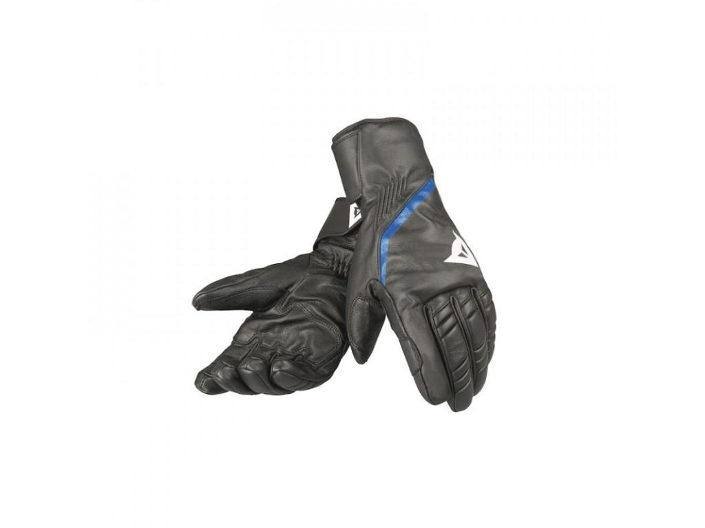 Pánské lyžařské rukavice Dainese Speedcarve 13 Glove- black/white/blue