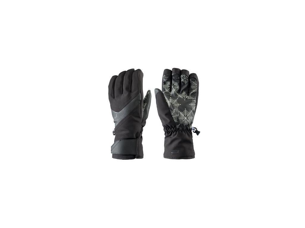 Dámské lyžařské rukavice Zanier Gerlitzen.zx - black