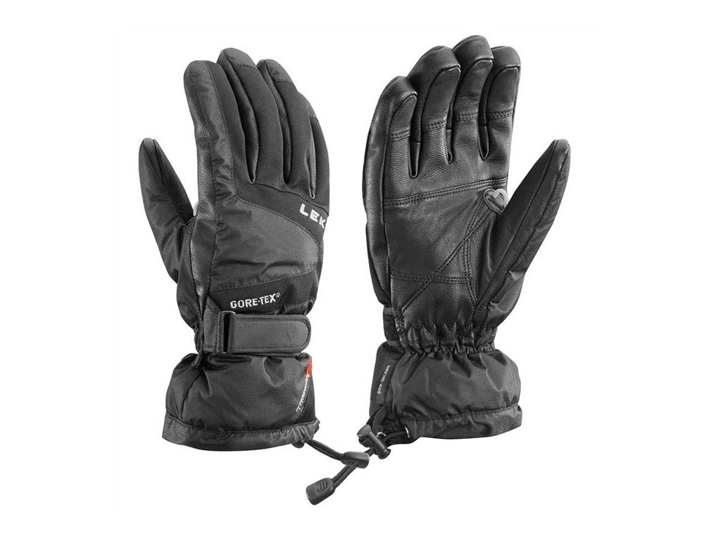 Dámské lyžařské rukavice Leki Scale - black - Dako Sport 51d141897c