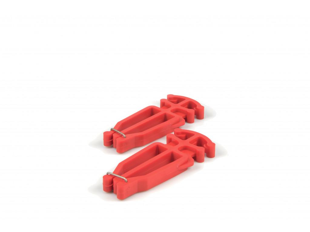 Nosič běžek a holí - DZ02-Red