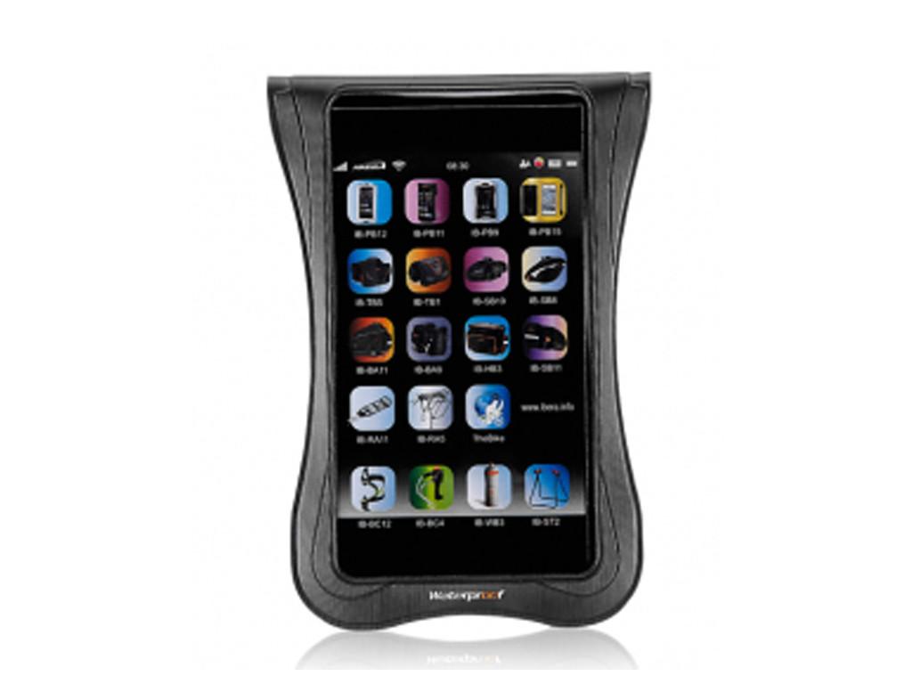 """Pouzdro pro Smartphone 5 - 5.8"""" Waterproof na představec IBERA IB-PB20"""