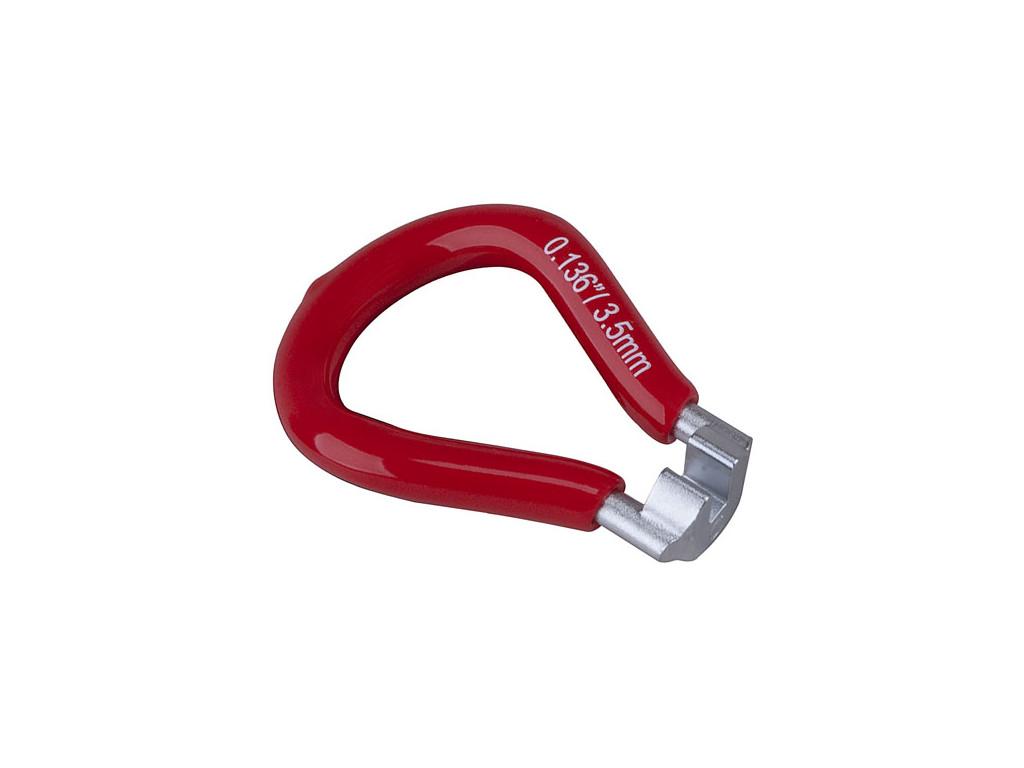 """Centrklíč PRO-T Plus červený pro nipl 0,136"""" (Asian) 3,5mm"""